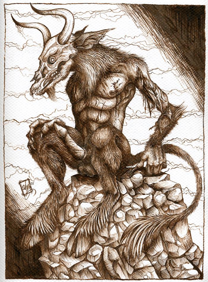 Страх в картинках - Страница 12 Baal